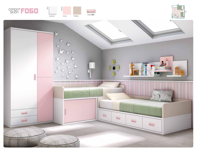 Camas nido infantiles - Ideas pintar habitacion infantil ...