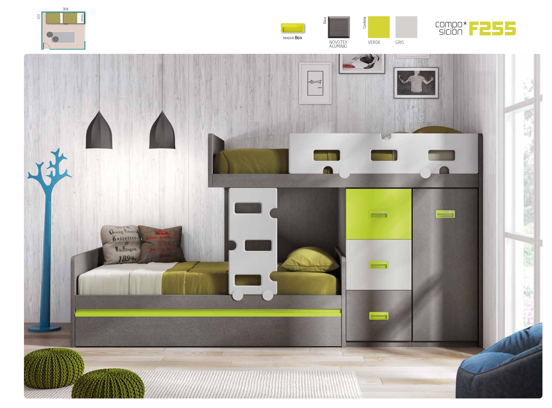 Blog de muebles camobel for Dormitorio juvenil tren