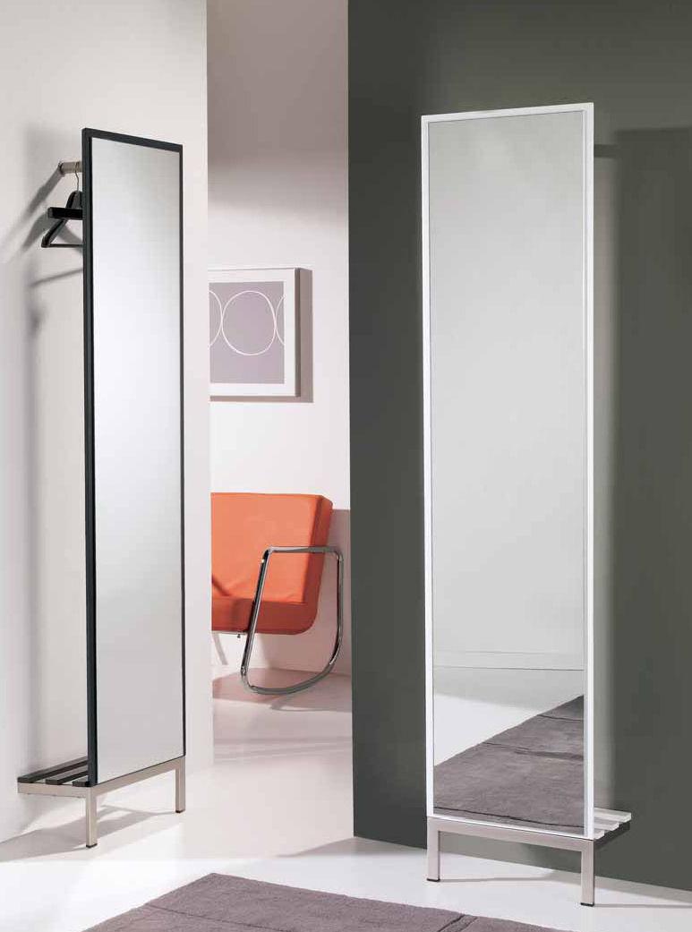 Muebles zapateros modernos for Zapatero entrada espejo