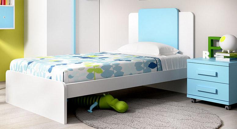 Dormitorios juveniles completos muebles camobel for Cabeceros juveniles