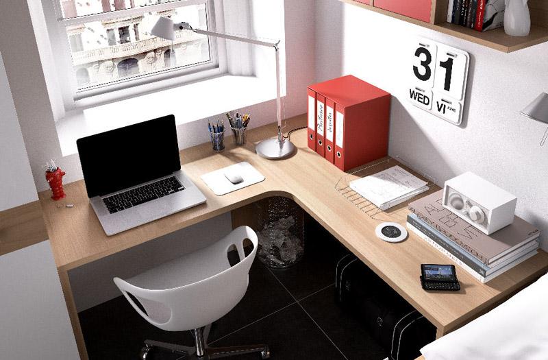 escritorio rincón