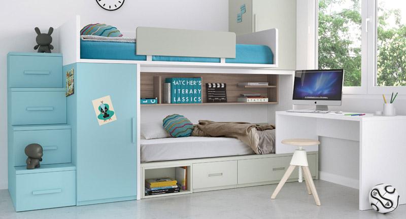 Dormitorios juveniles completos   muebles camobel