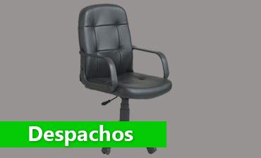 Sillones y sillas giratorias con ruedas para escritorios y for Sillones para despachos
