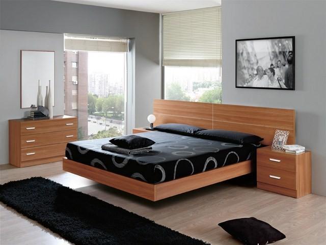 Dormitorios de matrimonio con y sin armario completos o por piezas - Dormitorios pequenos modernos ...