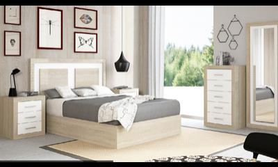 Dormitorios de matrimonio con y armario completos o for Cuartos completos