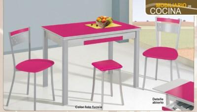 Conjuntos mesas y sillas cocina | Mesas y Sillas | Mubles Camobel