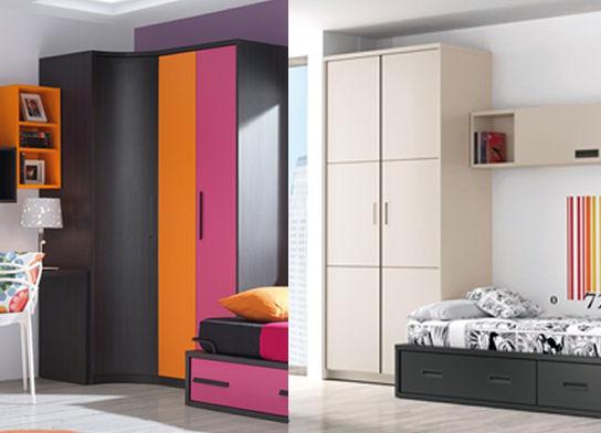 Tipos de armarios juveniles for Armarios juveniles