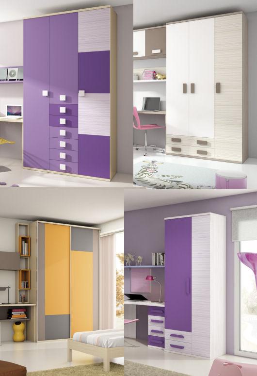 Tipos de armarios juveniles for Armarios juveniles baratos