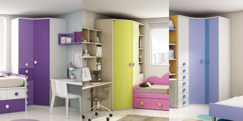 Tipos de armarios juveniles - Armarios por modulos ...